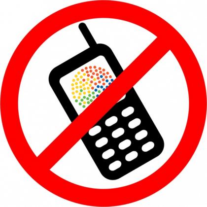 Vietato usare il cellulare