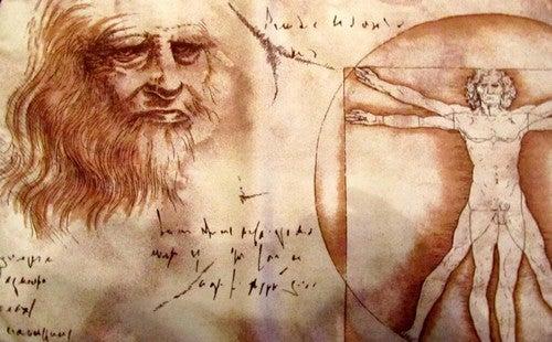 Disegni e frasi di Leonardo Da Vinci