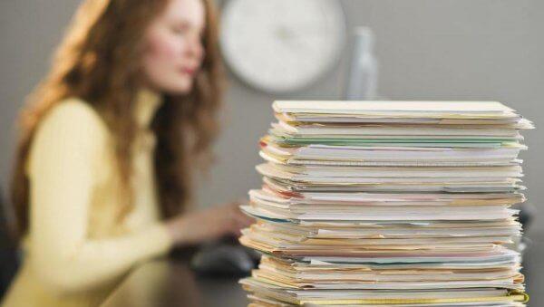 Pile di documenti