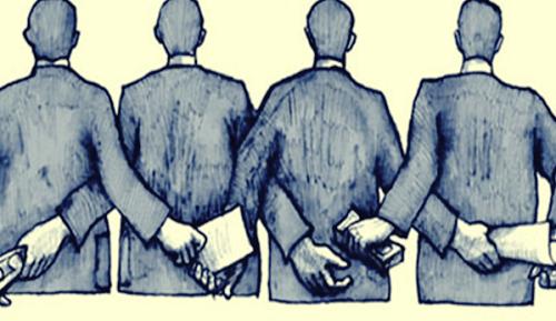 La corruzione parte dalle persone comuni