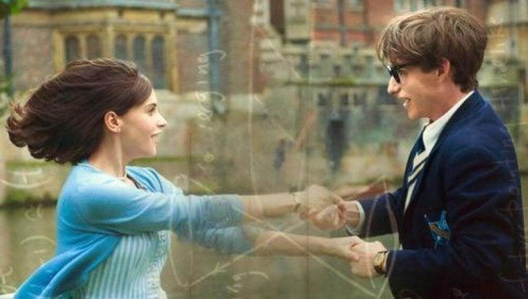 Stephen Hawking balla con Jane