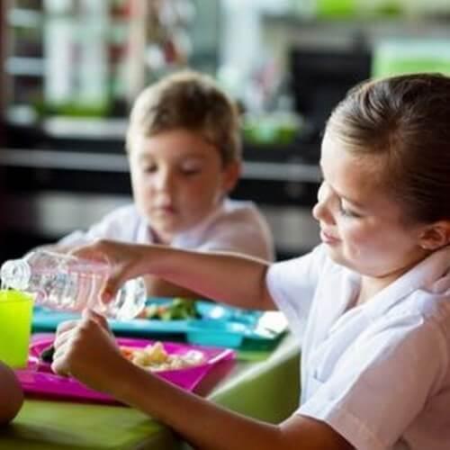 Mensa scolastica e vantaggi