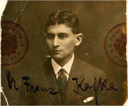 Franz Kafka da giovane