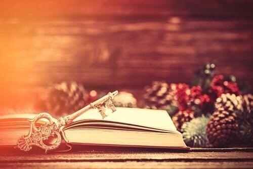 Libro che racconta la storia del Natale