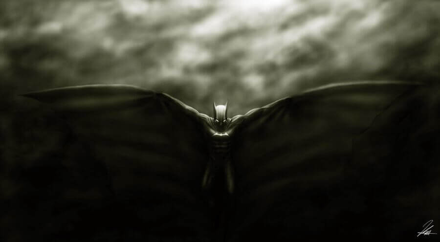 Batman pipistrello