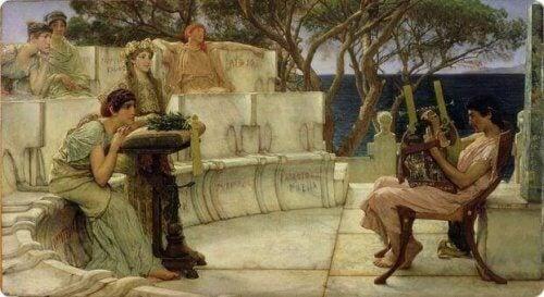 Canto epico greco