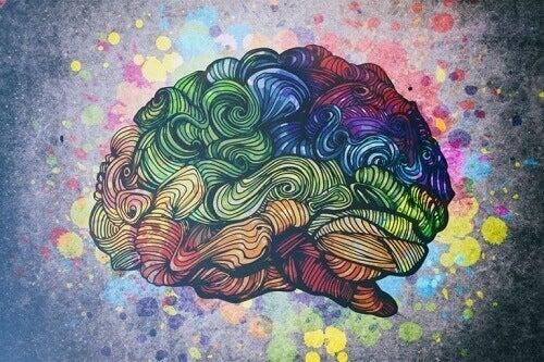 Cervello multicolore e relazione tra creatività e disturbo bipolare