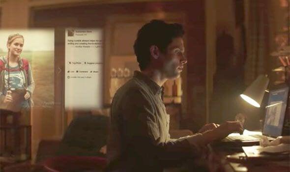Joe davanti al computer