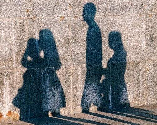 Ombre muro gruppi sociali