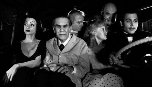 Scena del film Ed Wood