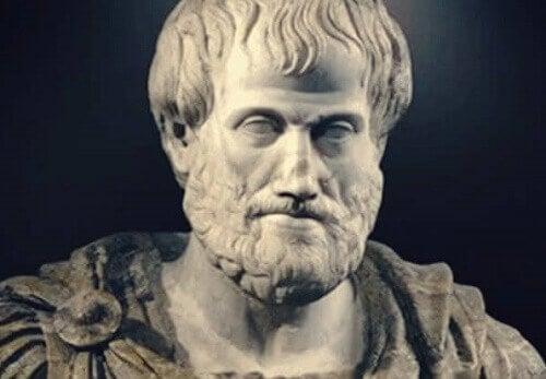 Busto di Aristotele.