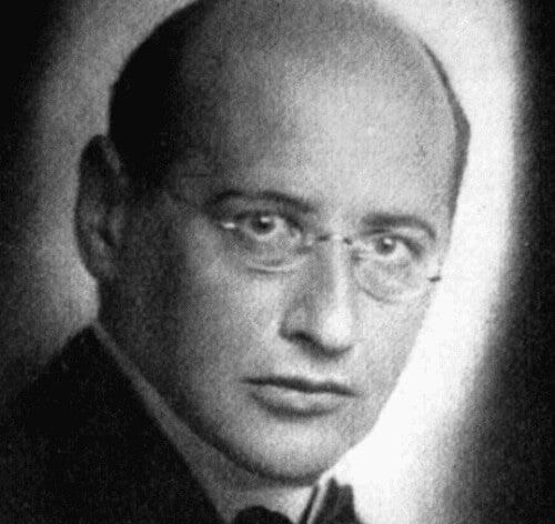 Theodor Reik da giovane in una foto