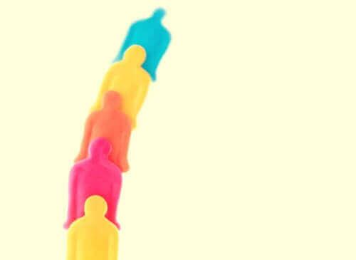 Uomini colorati