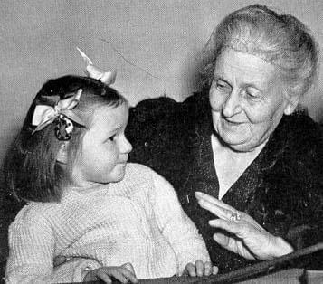 Maria Montessori e i bambini