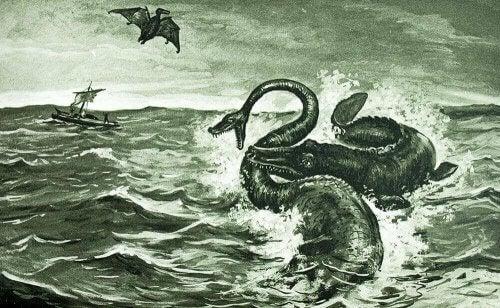Illustrazione ventimila leghe sotto i mari