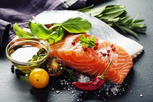 Mangiare bene con il salmone