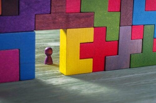 Pedina e pezzi del tetris