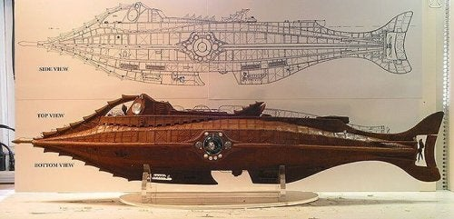 Planimetria sottomarino