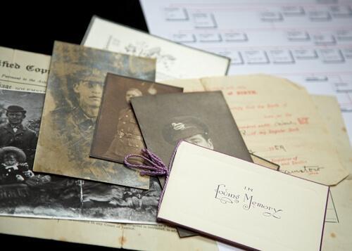 Lettere e foto antiche