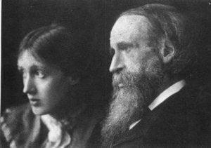 Virginia Woolf e suo padre