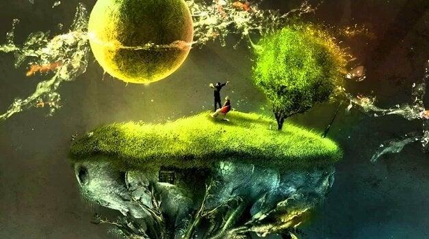 Coppia, albero e pianeta