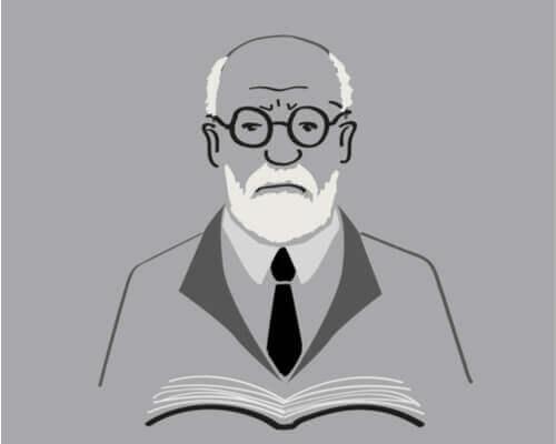Freud con libro