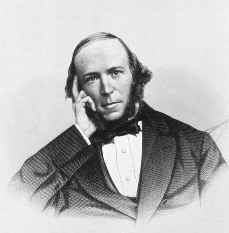 Ritratto di Herbert Spencer