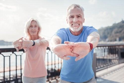 Per invecchiare sani fate sport