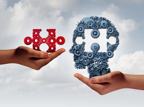 Tassello puzzle mente teoria dei costrutti personali