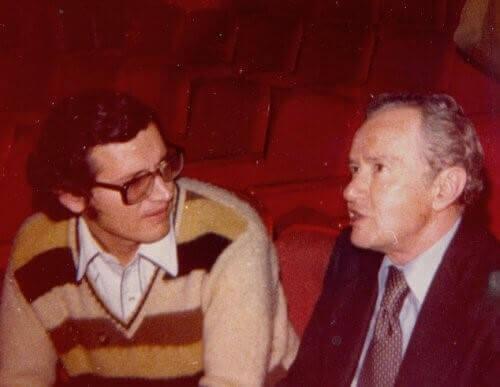 Herminio Martínez y Juan Rulfo