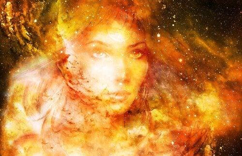 Immagine di divinità femminile