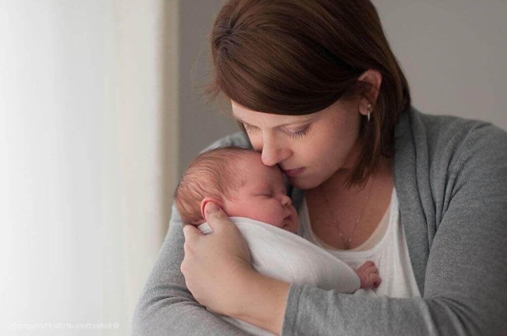 Madre e neonato