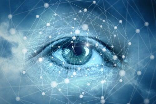 Occhio connessioni allenare l'attenzione