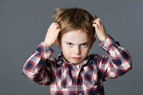 Tricotillomania infantile: che cos'è?