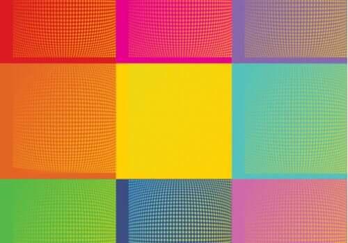Arte pop e colori