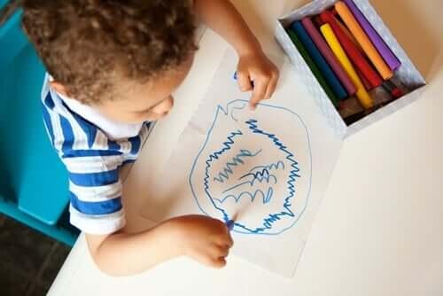 Scarabocchi: il linguaggio segreto dei bambini