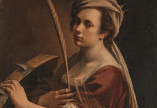 Dipinto di donna con piuma