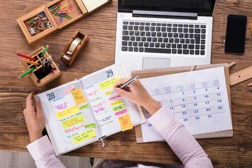 Organizzare il tempo al meglio
