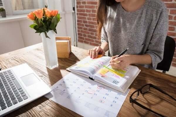 Per organizzare il tempo l'importante è pianificare