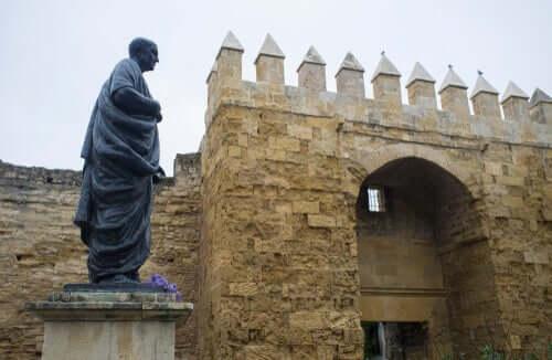 Statua di Seneca a Cordoba