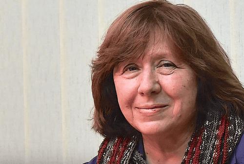 Svetlana Alexievich, straordinaria cronista