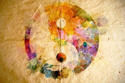 Yin yang colori