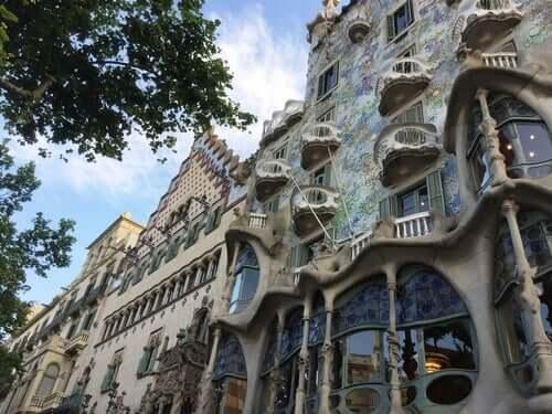 Casa Batllo a Barcellona