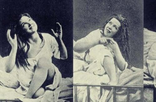 Foto di donne isteriche