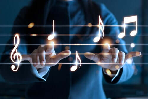 Spartito musicale e gli effetti della musicoterapia