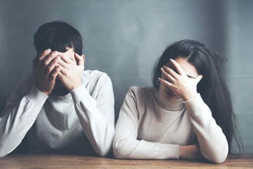 Comportamenti distruttivi nella coppia