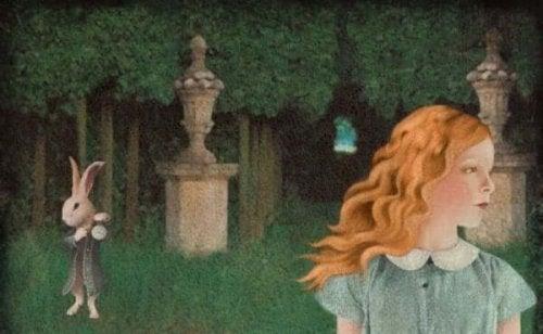 Alice e il bianconiglio come esempio di perdere tempo