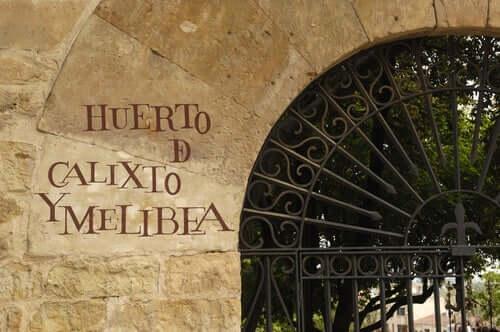 Ingresso del giardino di Calisto e Melibea di Salamanca