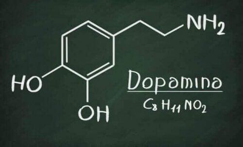 Formula della dopamina