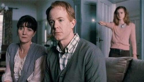 Hermione Granger e i suoi genitori